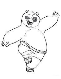Kung Fu Panda Coloring Pages For Kidsprintablecoloring
