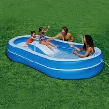 If The Hard Plastic Kiddie Pool Is Small Enough You May Just Want To Drain It And Properly Sanitize Using Clorox Bleach