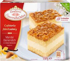 cafeteria fein sahnig mandel bienenstich 530 grams