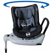 siege bebe pivotant isofix siège auto pivotant tornado 360 gris noir groupe 0 1 isofix