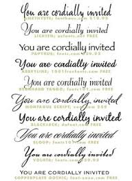 Wedding Invitation Fonts With Mesmerizing Appearance For Design Ideas 4