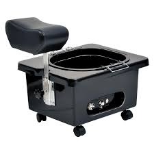 Pedicure Sinks For Home pibbs pedingo dg105 portable pedicure bowl with footrest no plumbing