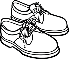 Shoe Clipart Black And White ClipartXtras