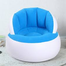 Inflatable Chair Adult Kids Air Seat Reading Relax Bean Bag Beanbag Home Furniture Living