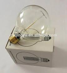 squirrel cage vintage bulb for home decor edison bulb g95 view