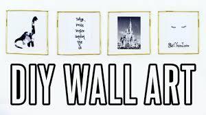 DIY Tumblr Wall Art Cheap Easy Room Decor