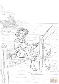 58 Dessins De Coloriage Tom Sawyer à Imprimer