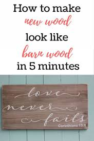 How To Make New Wood Look Like Barn Wood In 5 Minutes FLAT ... How To Make New Wood Look Like Old Barn Worthing Court Ikea Hack Build A Farmhouse Table The Easy Way East Coast Creative Diy Weathered Wall Time Lapse Youtube Best 25 Reclaimed Wood Kitchen Ideas On Pinterest Tiles Gray Subway Tile With White Tub Could Bring In Color Distressed Floors Aging Using Chalky Paint Paint Learning And Woods Making New Look Like Old Barn Signs Finish Cstphrblk