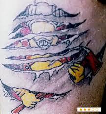 Irish Scottish Firefighter Tattoos Ideas
