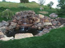 WATER FEATURES Best 25 Backyard Waterfalls Ideas On Pinterest Water Falls Waterfall Pictures Urellas Irrigation Landscaping Llc I Didnt Like Backyard Until My Husband Built One From Ideas 24 Stunning Pond Garden 17 Custom Home Waterfalls Outdoor Universal How To Build A Emerson Design And Fountains 5487 The Truth About Wow Building A Video Ing Easy Backyards Cozy Ponds
