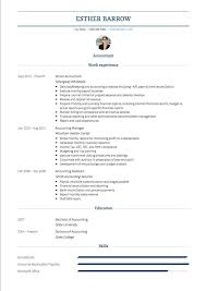 Accountant Curriculum Vitae Cv Examples And Template
