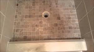 tile redi shower pan install