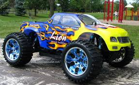 RC Monster Truck Brushless Electric 1/10 PRO LIPO 2.4G 88004 Blue ...