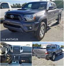100 Salvage Trucks Auction Copart On Twitter This 2014 Toyota Tacoma Is Selling In An