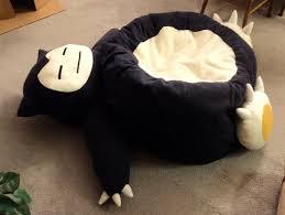 snorlax beanbag chair by smellenjr on deviantart