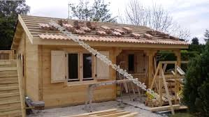 chalet en kit habitable prix chalet de loisir ou d habitation bordeaux 42 m2 sans rt2012