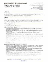 Resume Headline Samples Android Application Developer Examples For Fresher Software Engineer