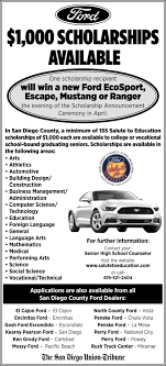 100 Rush Truck Center San Diego 1000 Scholarships Available Salute To Education Ford CA