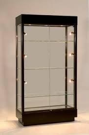 Black Museum Showcase Display Case Lights Bktr411