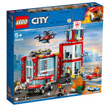 LEGO City Fire Station 60215 - £60.00 - Hamleys For Toys And Games