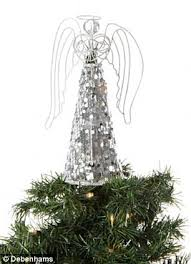 Debenhams Sell Both Tree Toppers The Angel Is GBP10 While Star GBP