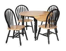Black Kitchen Table Set Target by Amazon Com Tms 5 Piece Drop Leaf Dining Set Table U0026 Chair Sets