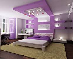 Purple And Grey Bedroom White Ideas Pop False Ceiling Samples Wall Niche Curtain Designs Pictures Remodel