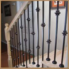 Powder Coated Iron Balusters For Stairs And Balconies - Iron Stair ... Iron Stair Parts Wrought Balusters Handrails Newels And Stairs Amusing Metal Railing Parts Extordarymetalrailing Banister Baluster Railing Adorable Modern Railings To Inspire Your Own Shop Kits At Lowescom Stainless Steel Our 1970s House Makeover Part 6 The Hardwood Entryway Copper Home Depot Model Staircase Metal Spindles For High Quality Neauiccom 24 Best Craftsman Style Remodeling Ideas Images On This Deck Stair Was Made Using Great Skill Modular