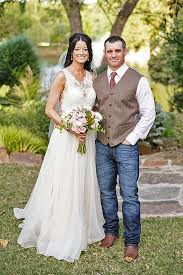 Rustic Wedding Attire Country Style