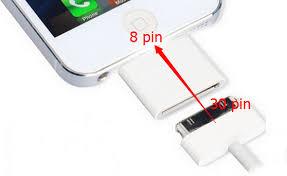 Aliexpress Buy Wholesale 300Pcs lot 30 Pin to 8 Pin Adapter