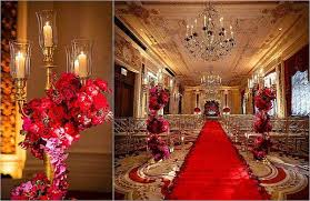Red Purple And Gold Wedding Colors Inspirational Decor Party Themes Inspiration
