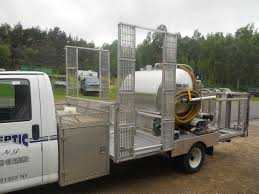 AJ's Septic Portable Toilet Service Truck | Hebel Welding & Machine