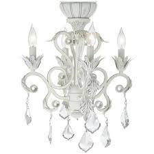 52 casa chic rubbed white chandelier ceiling fan chandelier