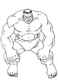Fresh Incredible Hulk Coloring Pages 97 With Additional Free Colouring