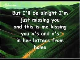 Letters From Home John Michael Montgomery  with Lyrics