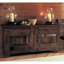 Crate And Barrel Buffet Wide Seared Oak Basque Banota