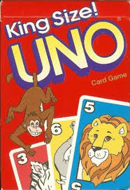 Uno Decks by Buy Playing Cards Uno Animals Card Game King Size For Little