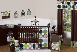 Modern Crib Bedding Sets by Bedroom Bedroom Interior Modern Polka Dot Blue Brown Green Baby