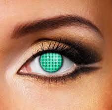 Halloween Contact Lenses Ebay by Mesh U0026 Screen Contact Lenses Screen Contacts