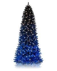 Celebrate The Holidays In Style With Treetopias Black Blue Ombre Tree Shop Colored Christmas Trees