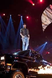 99 Luke Bryan Truck Concert Feb 14 2014 At Mohegan Sun Arena At Casey Plaza