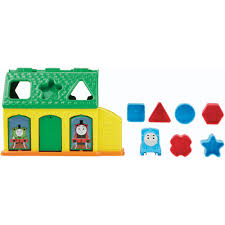Thomas The Train Tidmouth Sheds Playset by My First Thomas The Train Tidmouth Shape Sorter