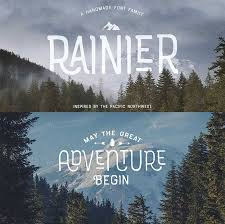 Rainier Font By Kimmy Design A Rustic Grunge Hipster For Your Organic