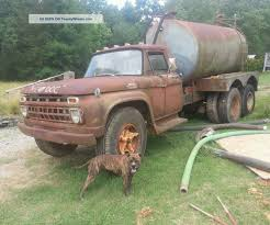 100 Septic Truck Ford F700 59 Model Ford 400m Runs And Drives