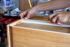 Dresser Drawer Slides Center Bottom Mount by Title U003e Modifying Classic Wood Center Mount Drawer Slides U003c Title