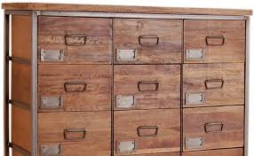 Industrial Living 18 Drawers Apothecary Chest