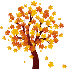 Autumn Tree Clip Art 1