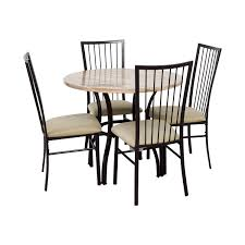 Wayfair Kitchen Table Sets by 46 Off Wayfair Wayfair Stone Dining Table Set Tables