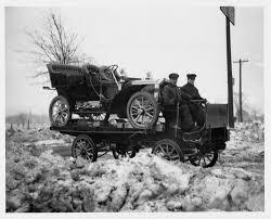 100 Packard Trucks 1905 Model N Loaded Onto A 1905 Truck S