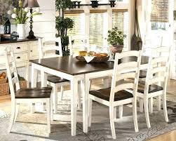 Country Dining Room Table Farmhouse Style G Set Image Centerpieces New Ideas Rustic French Furniture Painted